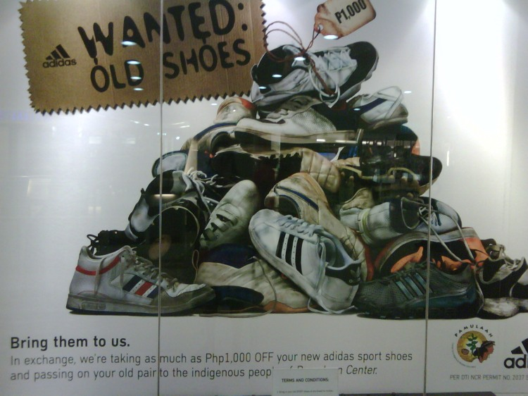 Addidas: Wanted Old Shoes