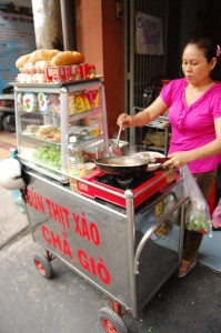 Side Street Vendor where we usually have our breakfast