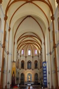 Interior of Notre Dame, HCMC