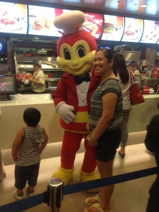 Mr Jollibee at Singapore