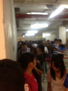 Queue at Jollibee Singapore