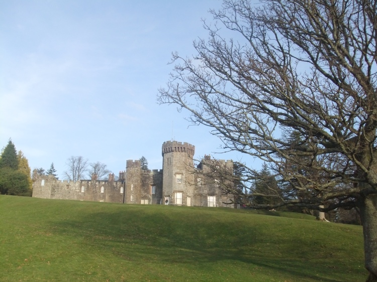 This is the Balloch Castle in all its tiny glory! :)