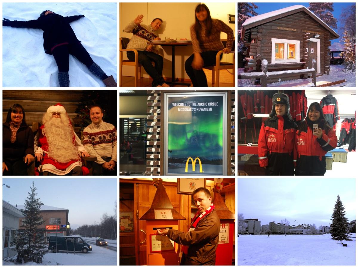 Snow, Lights and Santa: Rovaniemi, Finland