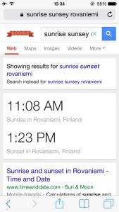 Rovaniemi Sunrise