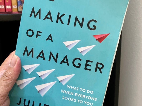 Julie Zhuo's The Making of a Manager